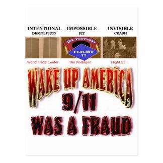 911 cartões da conspiração