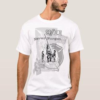 911 nunca esqueça camiseta