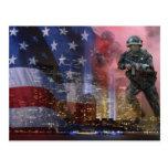 911 torres gémeas cartao postal