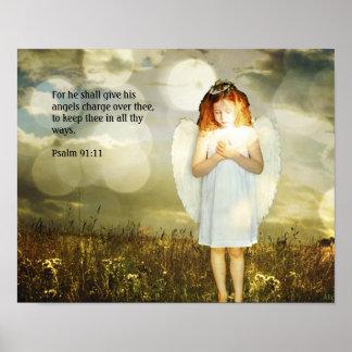 91:11 do salmo poster