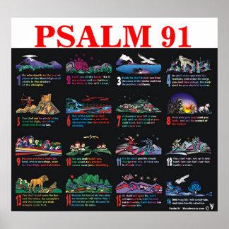 91:1 do salmo - 16 pôster