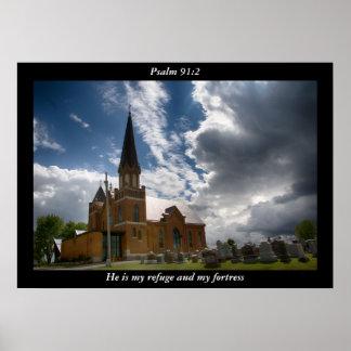 91:2 do salmo pôster