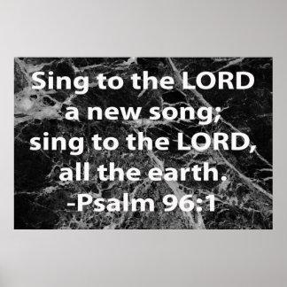 96:1 do salmo poster
