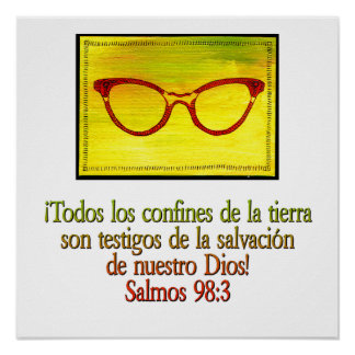 98:3 de Salmos Poster