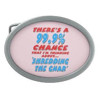 99,9% SHREDDING O GNAR (preto)