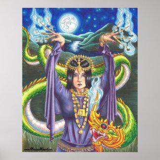 9 dragão tailandês do poster de Tarot do poster 78