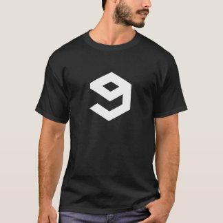 9gag (preto) camiseta