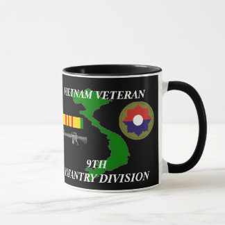 9o Canecas de café do veterano de Vietnam da