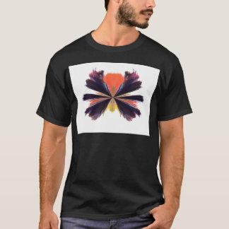 A030 abstrato camiseta