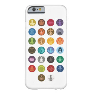 A a Z: Zen animal Capa Barely There Para iPhone 6