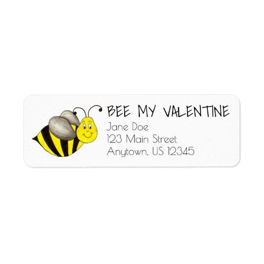 A abelha seja minhas etiquetas de endereço do dia etiqueta endereço de retorno