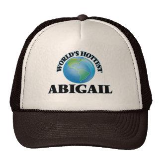 A Abigail a mais quente do mundo Bonés
