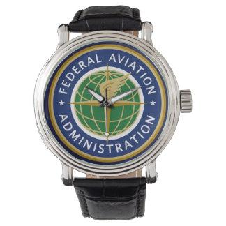 A Administração Federal de Aviação de FAA Relogio