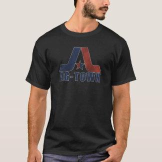 A AG-Cidade desvaneceu-se camisa escura