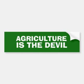 A AGRICULTURA É o autocolante no vidro traseiro do Adesivo Para Carro