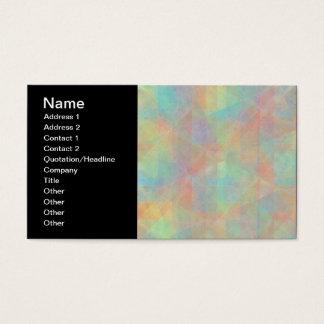 A aguarela Pastel dá forma à arte abstracta Cartão De Visitas