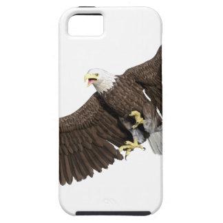 A águia americana com as asas em para baixo afaga capa para iPhone 5