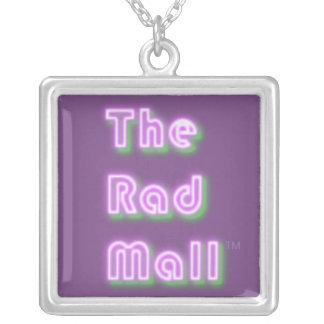 """A alameda colar Pendent do Rad do logotipo """"retro"""""""