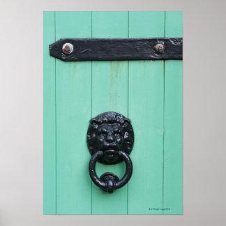 A aldrava de porta do Gardner Pôster