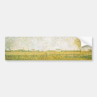 A alfafa coloca o santo Denis por Georges Seurat Adesivos