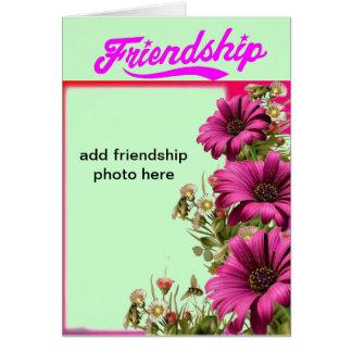 a amizade personaliza cartões