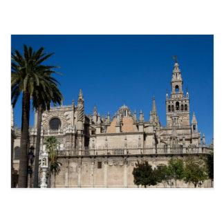 A Andaluzia - catedral do cartão de Sevilha Cartão Postal