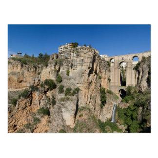 A Andaluzia - desfiladeiro do cartão de Ronda