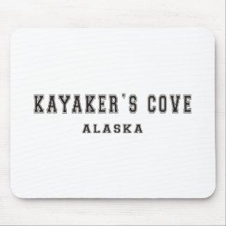 A angra Alaska do Kayaker Mouse Pad