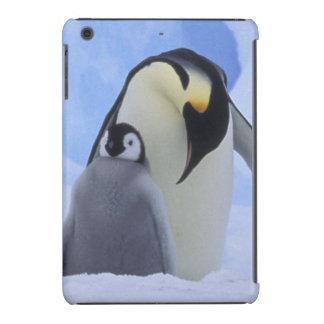 A Antártica. Pinguins e pintinho de imperador Capa Para iPad Mini Retina