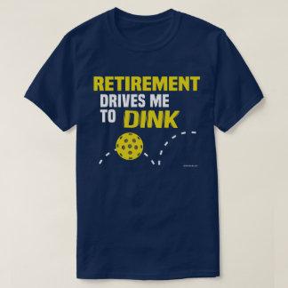 """A """"aposentadoria conduz-me à camisa de Dink"""""""