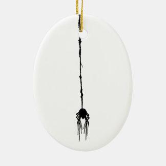 A aranha inoperante de Smooshed que pendura por Ornamento De Cerâmica