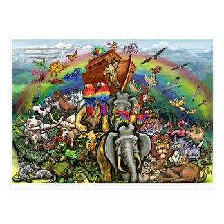 A arca de Noah Cartão Postal