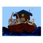 A arca de Noah Cartões Postais