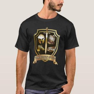 A armadura da camiseta cristã do evangelho do deus