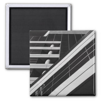 A arquitetura detalha o ímã ímã quadrado