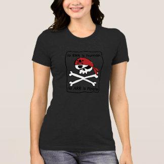 A Arr é o pirata Camiseta