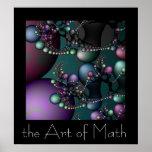 A arte da matemática pôsteres