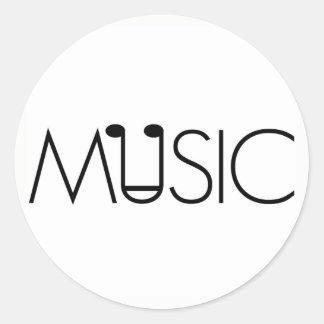 a arte da música projeta a etiqueta neutra