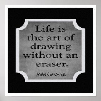 A arte da vida --- Impressão da arte