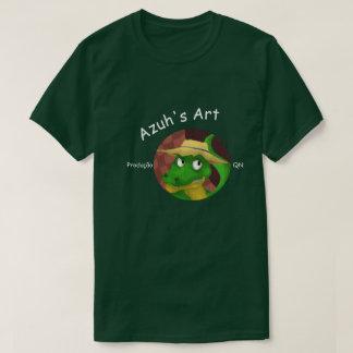 A arte de Azuh Camiseta