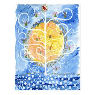 A árvore de pera & o cartão da perdiz