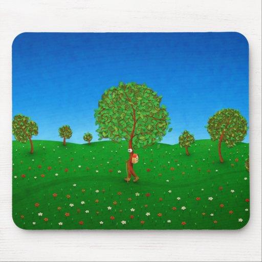 A árvore de viagem mousepad