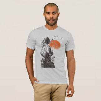 A árvore do ser humano de Alan da manutenção Camiseta