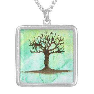 A árvore - pendente da colar