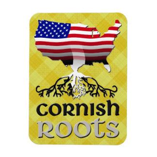 A ascendência americana Cornish enraíza o ímã