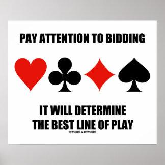A atenção do pagamento ao oferecimento determinará