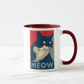 A audácia da caneca do Meow