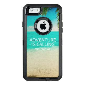 A aventura da praia está chamando o telefone das