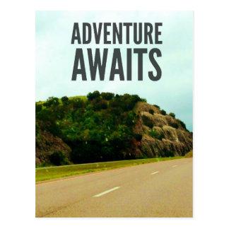 A aventura espera o cartão