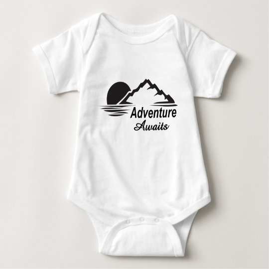 A aventura espera o excelente da natureza fora body para bebê